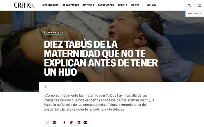 10 tabues maternidad